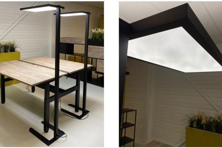 LED lamp kantoor