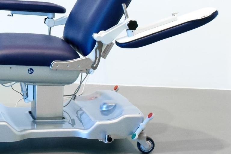 behandelstoel detail